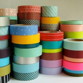 Velká kouzla s lepícími páskami washitapes