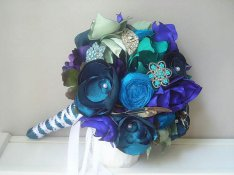 blue-turquoise-fabric-flower-bouquet-mabelle-cherie-etsy-shop