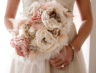 recycled_fabric_wedding_bouquet
