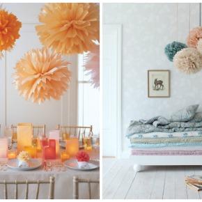 DIY: Papírové koule