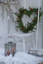 rustic vánoce