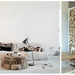 Dřevo vnáší do bydlenípřirozenost