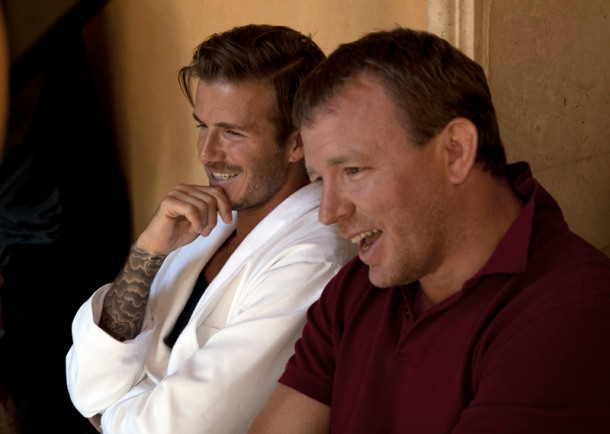 David Beckham pro HM