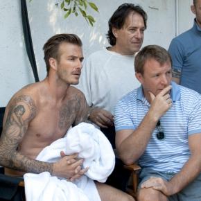 David Beckham v roli akčního hrdiny. To musítevidět!
