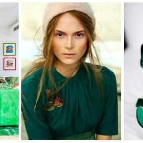 Smaragdová je barvou roku podlePantone