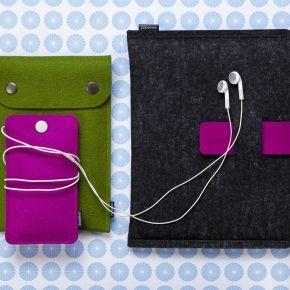 Plstěná pouzdra elektronické hračky chrání izdobí