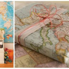 Mapy v interiéru lákají kcestování
