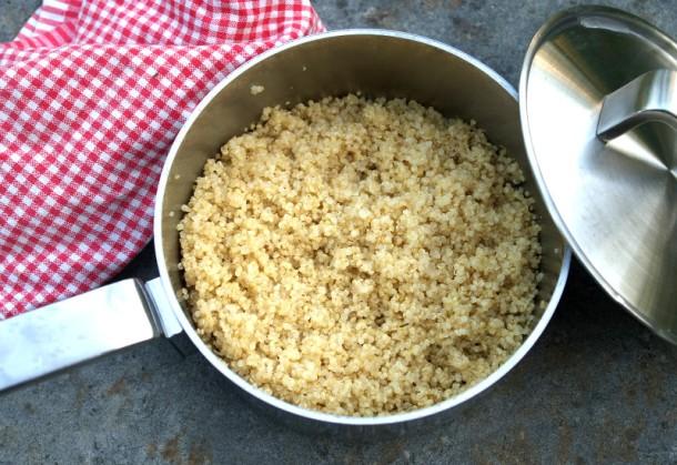 Perfektně uvařená quinoa