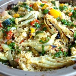 Quinoa s pečenouzeleninou